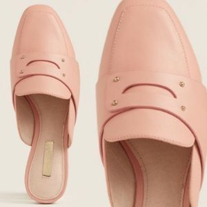 LOUISE ET CIE  Rosebud Charriet Leather Loafers 8
